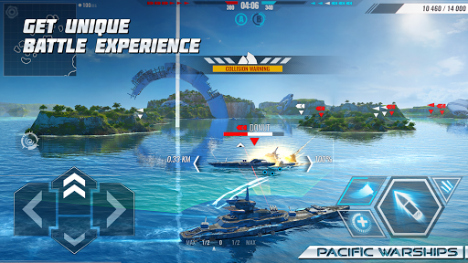Pacific Warships: World of Naval PvP Warfare  screenshots 1