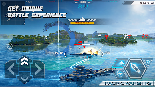 Pacific Warships: Online 3D War Shooter MOD (Unlimited Bullets) 1