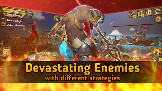 Ratropolis : CARD DEFENSE GAME screenshots 3