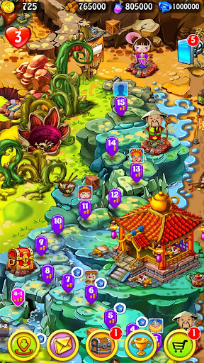Magica Travel Agency - Match 3 Puzzle Game 1.2.9 screenshots 6