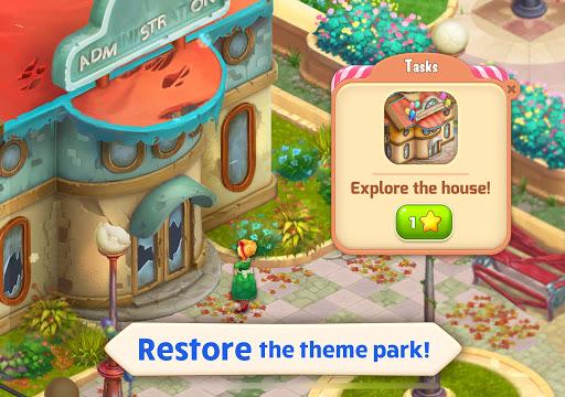 Télécharger Matchland - Build your Theme Park mod apk screenshots 6