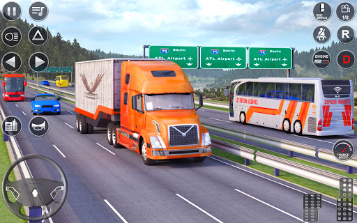 Euro Truck Driving Simulator 3D - Free Game 0.4 screenshots 1