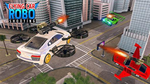 Flying Car Shooting Games - Drive Modern Cars Game 1.7 screenshots 13