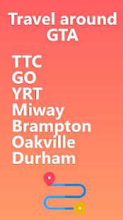 My TTC - Toronto Transit Bus, Subway Tracker
