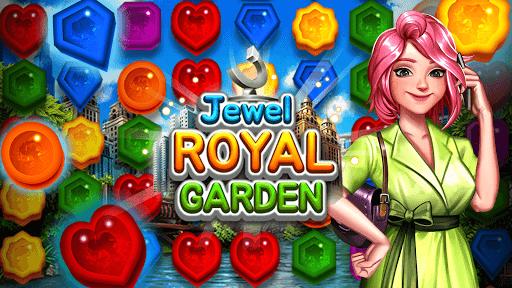 Jewel Royal Garden: Match 3 gem blast puzzle 1.0.1 screenshots 1