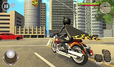 Bat Rope Hero Stickman Crime - Gangster Mafia Gameのおすすめ画像5