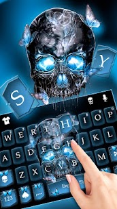 Neon Skull Keyboard Theme 1.0 MOD Apk Download 2