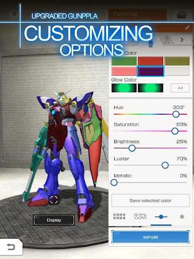 GUNDAM BATTLE GUNPLA WARFARE 2.03.00 screenshots 5