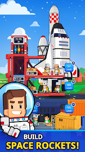 Rocket Star MOD APK- Idle Space Factory Tycoon (Unlimited Star Coins) 1