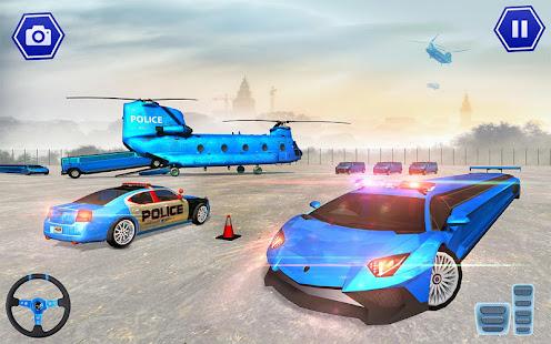 Police Plane Transport: Cruise Transport Games 1.12 Screenshots 8
