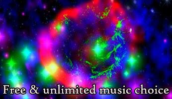 Alien Worlds Music Visualizer - Fluid UFO Chillout