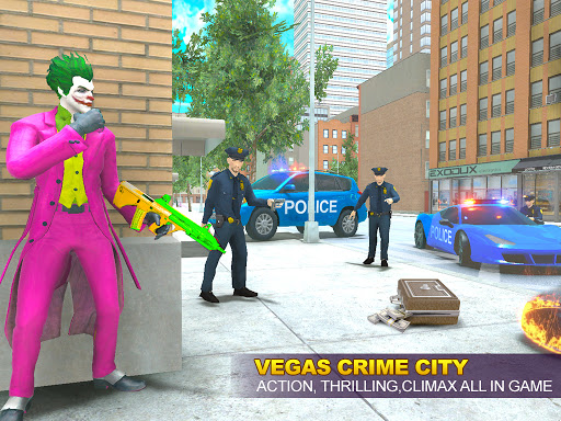Grand Clown Crime City War: Gangster Crime Games modavailable screenshots 6