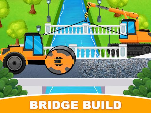 Construction Trucks & Vehicles : Build House Apkfinish screenshots 3