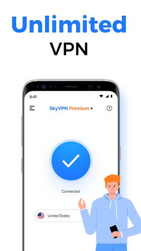 Download APK: SkyVPN-Best Free VPN Proxy for Secure WiFi Hotspot v2.0.5 [Premium]