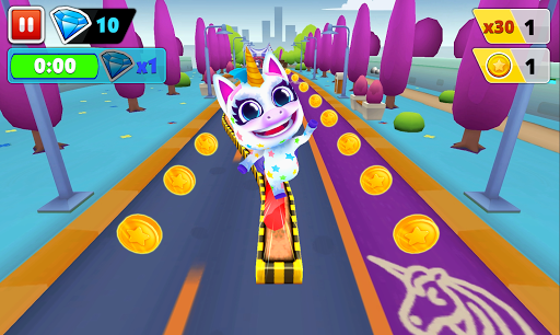 Unicorn Runner 2. Magical Running Adventure screenshots 14