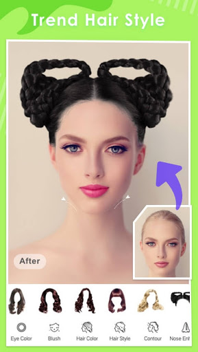 Makeup Camera-Selfie Beauty Filter Photo Editor  Screenshots 4