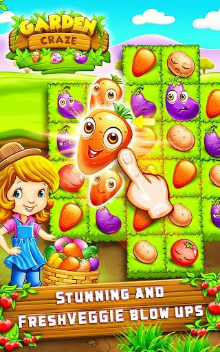 Garden Craze - Fruit Legend Match 3 Game modiapk screenshots 1