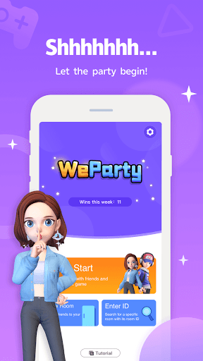WeParty - Voice Party Gaming goodtube screenshots 1