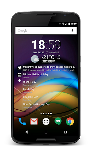 Chronus Information Widgets android2mod screenshots 3