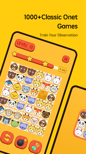 Onet Connect Animal Free-连连看&免费 1.1.0 screenshots 1