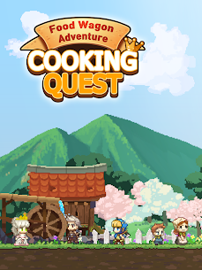 Cooking Quest VIP Mod Apk Food Wagon Adventure (Unlimited Gold) 7
