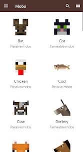 Knowledge book Pro Apk: craft, mobs and more (Mod/Pro Unlocked) 4