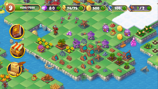 Mergest Kingdom: Merge Puzzle apkpoly screenshots 6