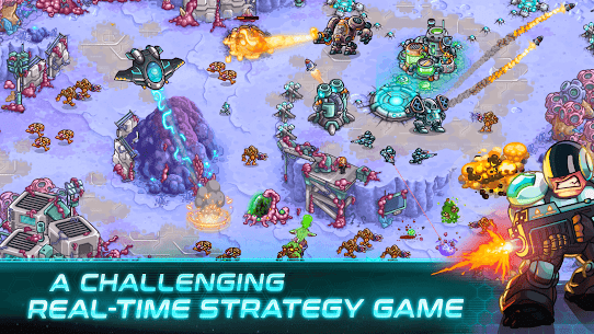 Free Iron Marines  RTS Offline Real Time Strategy Game 4