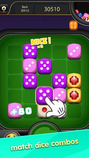 Thumb Dice-Number Merge  screenshots 1