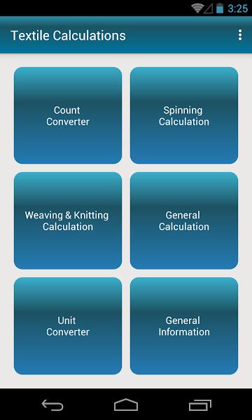 Textile Calculations Lite