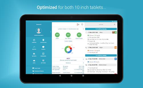 Diabetes:M - Management & Blood Sugar Tracker App screenshots 10