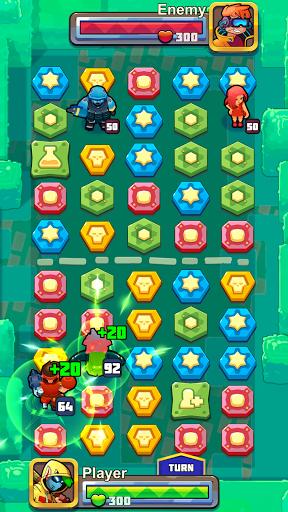 Puzzle Wars: Heroes  screenshots 1
