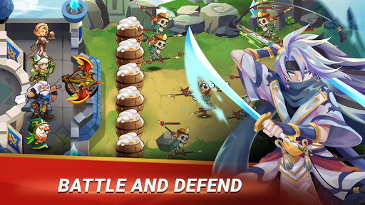 Castle Defender: Hero Idle Defense TD  screenshots 1