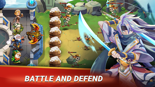 Castle Defender: Hero Idle Defense TD 1.8.2 Apk + Mod 1
