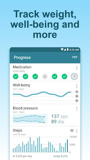 Pill Reminder & Medication Tracker - MyTherapy 3.68.2 Screenshots 5