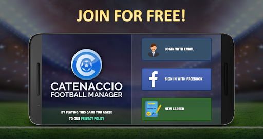 Catenaccio Football Manager 0.9 screenshots 1