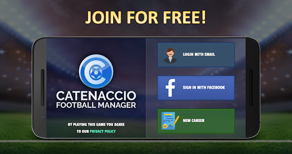 Catenaccio Football Manager 1