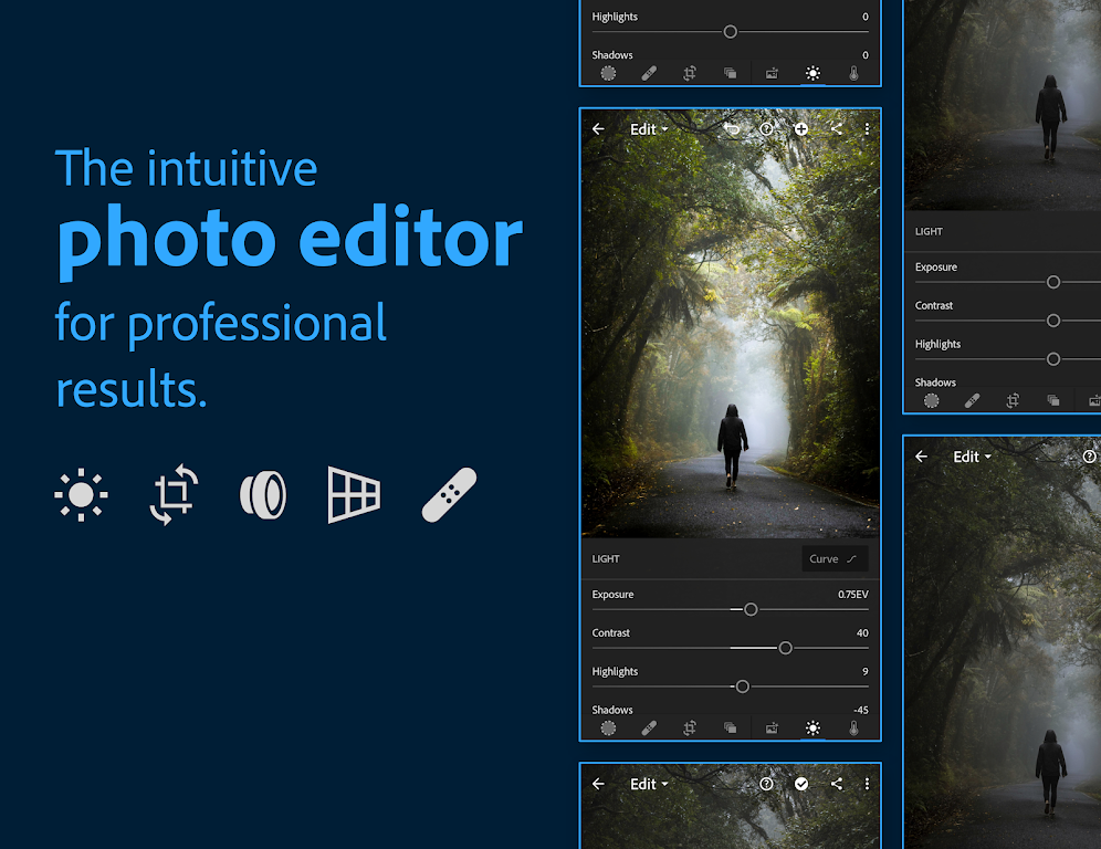 Adobe Lightroom - Photo Editor & Pro Camera poster 0