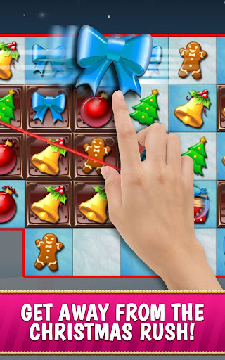 Christmas Crush Holiday Swapper Candy Match 3 Game 1.90 screenshots 1
