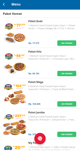 Domino's Pizza Indonesia - Home Delivery Expert 5.1.07 Screenshots 3