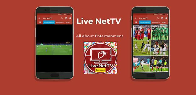 Live Net Tv Apk 4