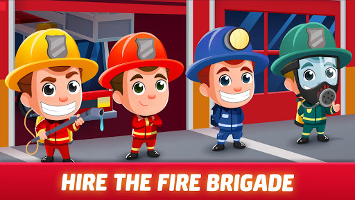 Idle Firefighter Tycoon - Fire Emergency Manager apktram screenshots 12