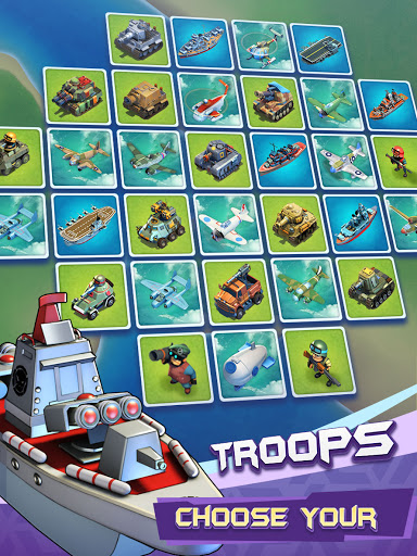 Top Defense:Merge Wars 1.0.15 screenshots 10