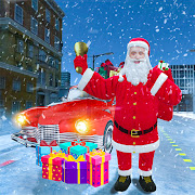 Santa Claus Car Driving 3d – New Christmas Games