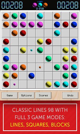 lines 98 - lines, squares, blocks screenshot 1