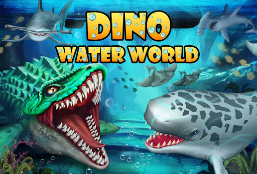 Code Triche Jurassic Dino Water World-Monde de l'eau Dino APK MOD (Astuce) screenshots 1
