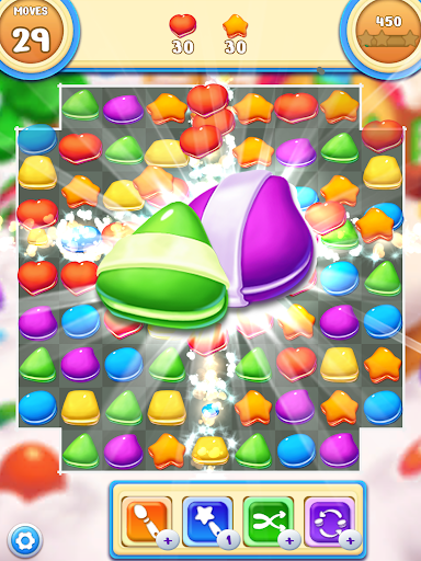 Cookie Macaron Pop : Sweet Match 3 Puzzle 1.5.4 screenshots 11
