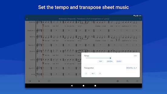MuseScore: view and play sheet music 2.9.02 Screenshots 16