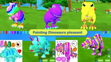 Dinosaur Coloring 3D - AR Camera