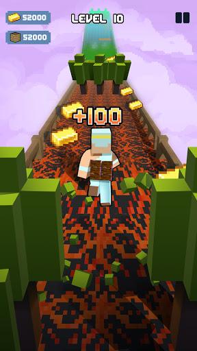 Craft Runner - Miner Rush: Building and Crafting Apkfinish screenshots 18
